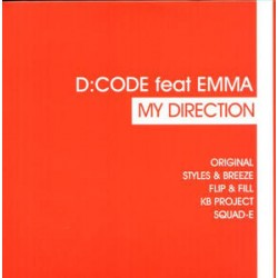 D:CODE Feat Emma ‎– My Direction double vinyl