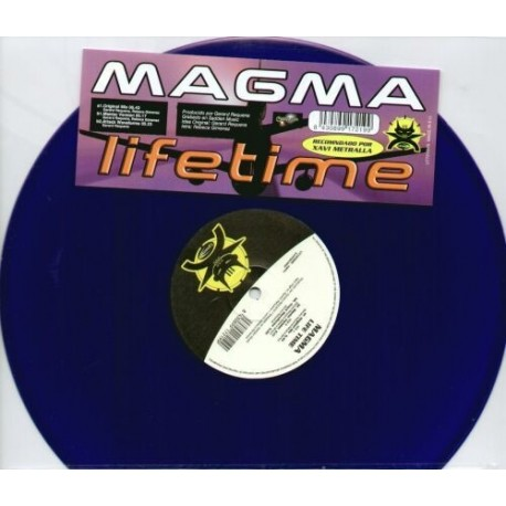 Magma - Lifetime colour vinyl (new)