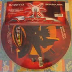 Borr-x - Resurrection picture disc (new)