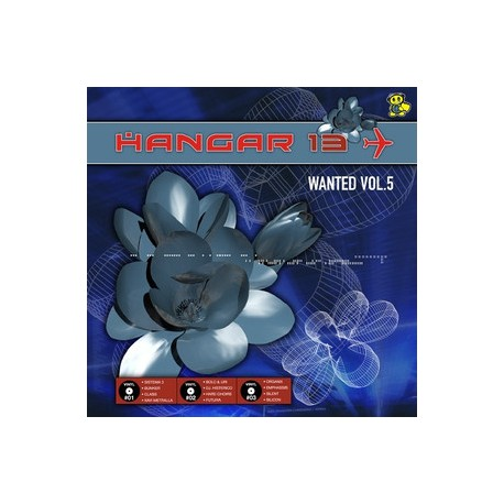 Hangar 13 wanted vol 5 - 3 x records limited edition release (new)