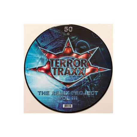 Terror traxx The Remix Project Vol. III picture disc (new)