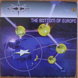 Scion  ‎– The Bottom Of Europe (ex dj sticker on each centre label not full cover)