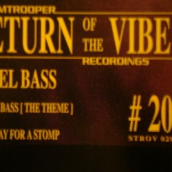 Rebel Bass ‎– Rebel Bass (The Theme) / Fine Day For A Stomp (new)