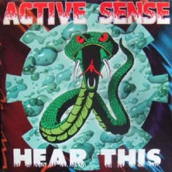 Active Sense ‎– Hear This (2 small stickers on each side but near new)