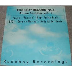 Rudeboy Recordings Album Sampler Vol. 1 (few pen marks but is near new)