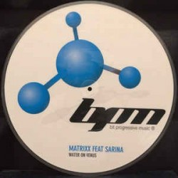 Matrixx  ‎– Water On Venus picture disc (new)