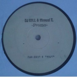 DJ Mill & Manuel T. ‎– Untitled promo UFO Recordings ‎– LPXX001 (new)