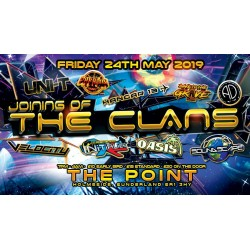 Joining of the clans friday 24th may @ the point tickets only £10