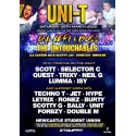 Uni-T Sat 28th march 2020 standard tickets no booking fee charge