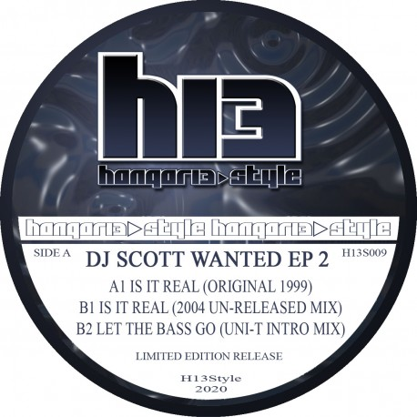 Hangar 13 H13S009 - Is it real 1999 re release limited press (pre order only)