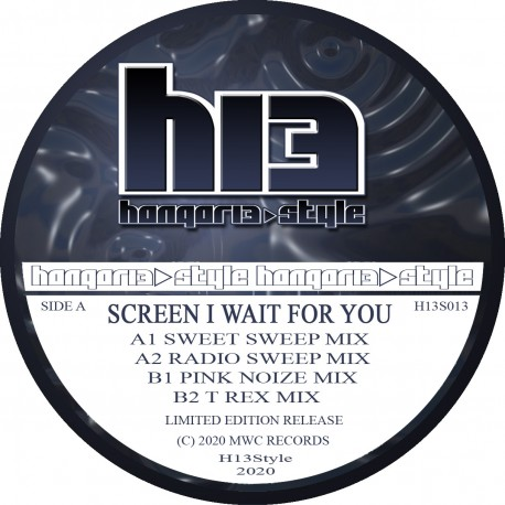 Screen – I Wait For You (Movin' On Baby) Clear vinyl pre order