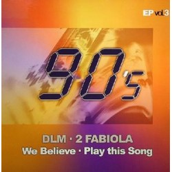DLM / 2 Fabiola ‎– 90's EP Vol. 3 (new)