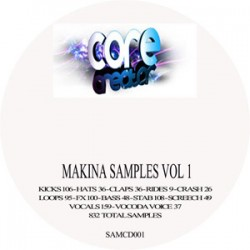Makina samples vol 1 FREE POST & PACK UK ONLY
