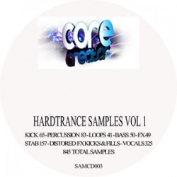 Hardtrance samples vol 1 FREE POST & PACK UK ONLY