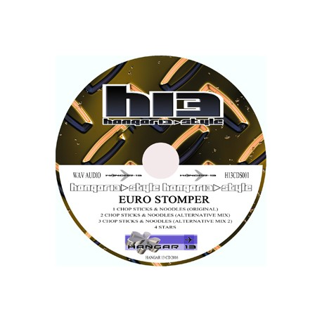 Euro stomper - Chop sticks & noodles cd single