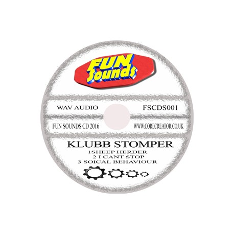 Klubb stomper ep cd single pre order with Free post & packing uk only
