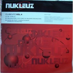 Various ‎– Clubcutz Volume 4 (record is new but has pen marks in a few places)